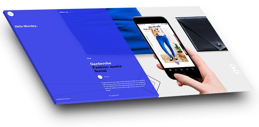 yna.עיצוב אתרים 2017 אפקט פיצול מסך 2